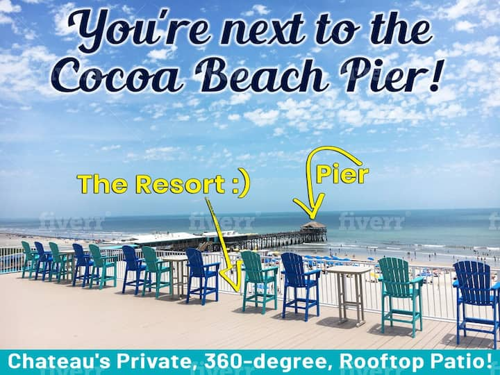 Next to Pier!!  New & perfect condo for the family!