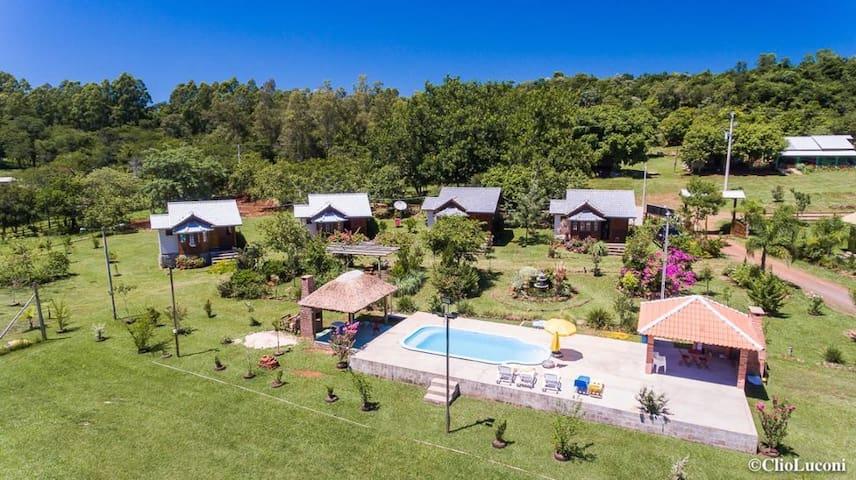 Casas de Campo, Agroturismo  Rancho Costeiro