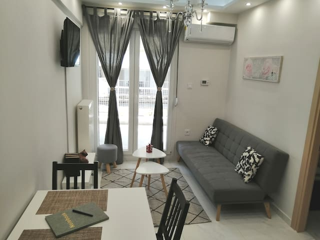 Eliza's luxury apartment in the heart of the city