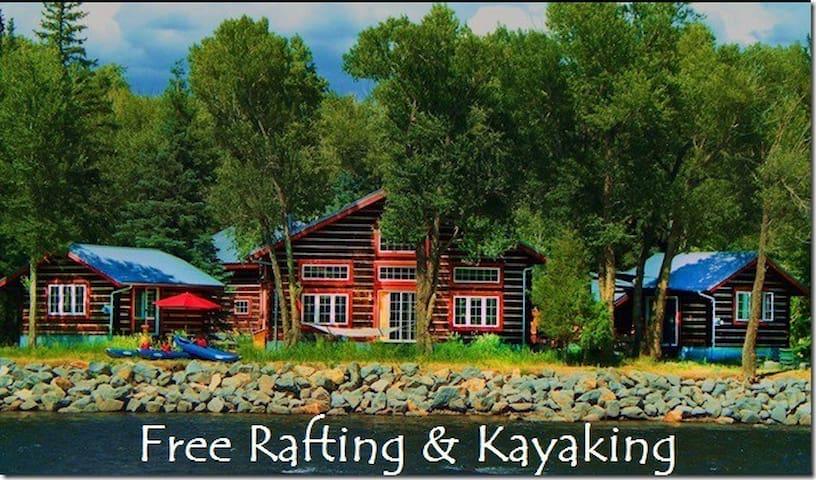 Riverside Meadows Master Cabin - South Fork - Mökki