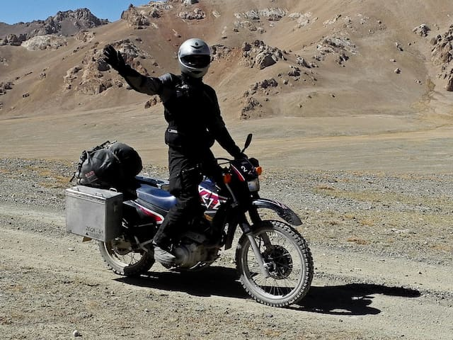 Yamaha XT 600 E in Central Asia - Osh - Inny
