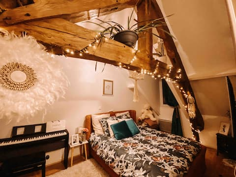 Accommodation sector south 10 minutes from Amiens center.