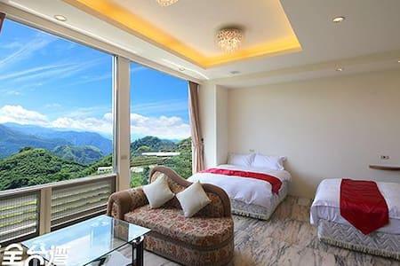 阿里山布魯森民宿-漫步雲端4人房。享受舒適的床及優美的景色 - 番路鄉