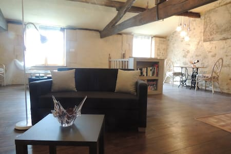 Kestrel's Loft Apartment, Gensac - Gensac - Appartement