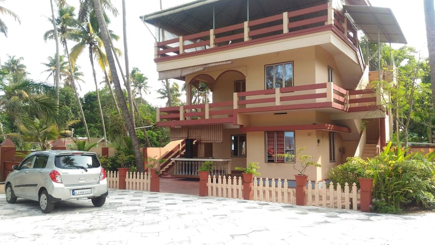 Beach faced Rooms in kochi,low cost - cherai, ernakulam district - อพาร์ทเมนท์