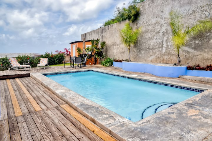 Vieques Island House with Caribbean Views & Pool!