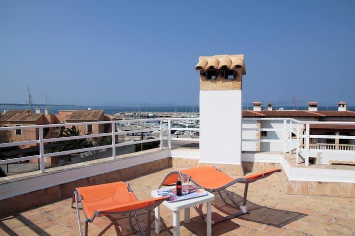 House over Alcudia Bay views