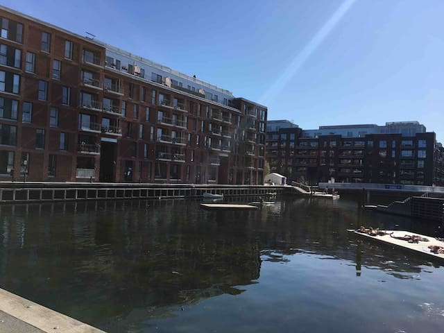 Modern flat among Copenhagen's beautiful canals