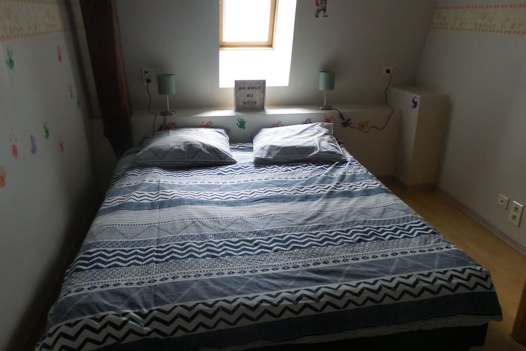 chambre 2    lit 160*200
