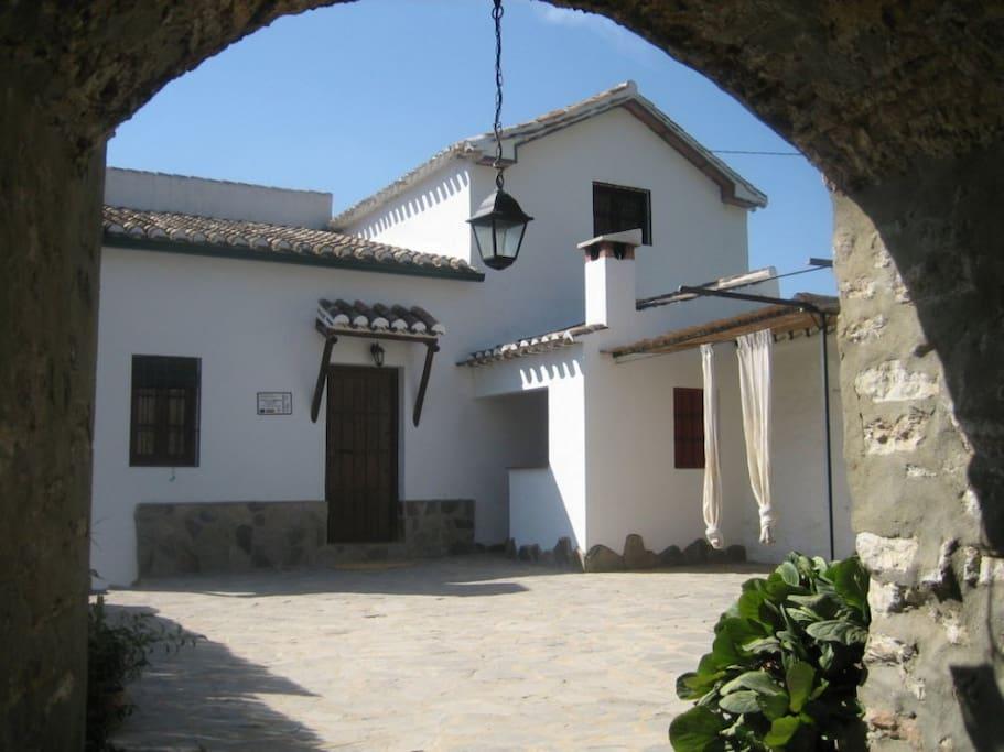 Fachada de Molino Jabonero