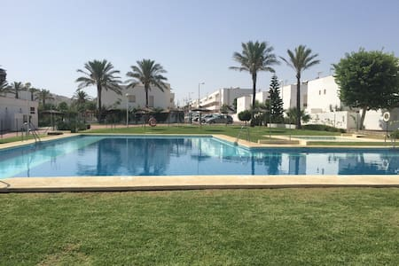 Near Beach, Golf with Pool and Wifi - Almería