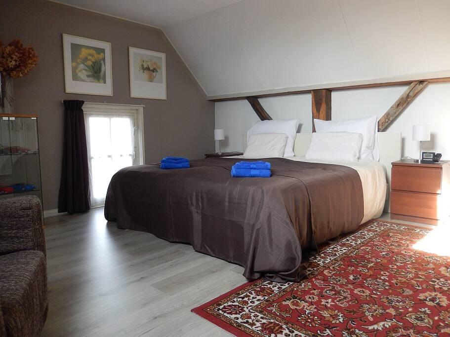 grote slaapkamer 25m²