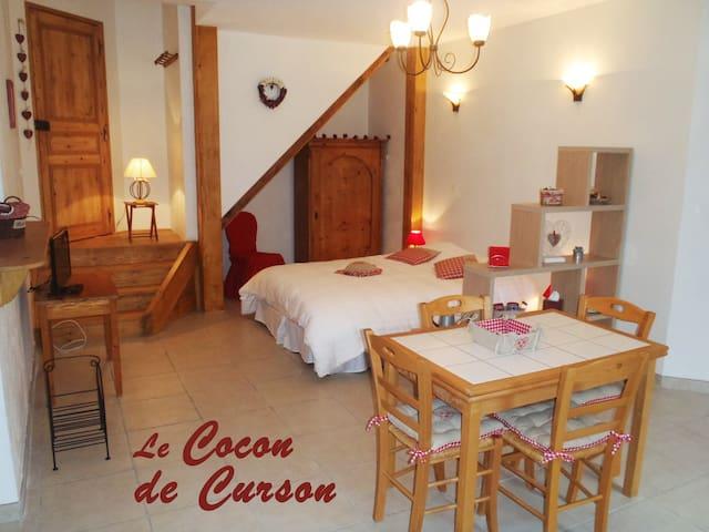 Le Cocon de Curson -Chambre 2 pers - Valence - Bed & Breakfast