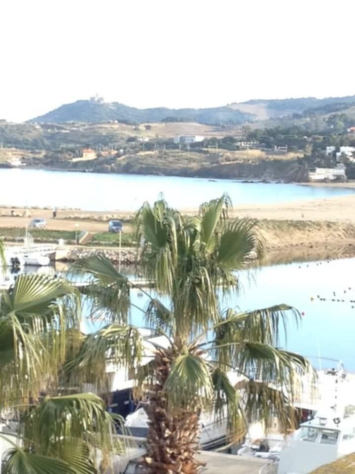 Appartement vue Mer au Port de Argeles sur Mer