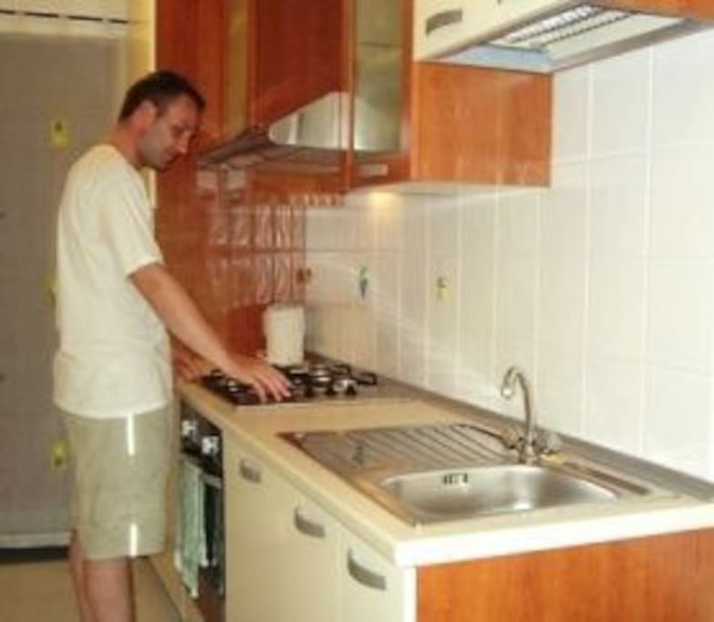 well equipped kitchenette for use of guests
