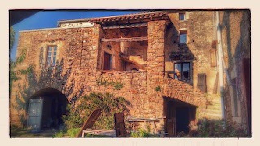 Maison cévenole - Mialet - Casa
