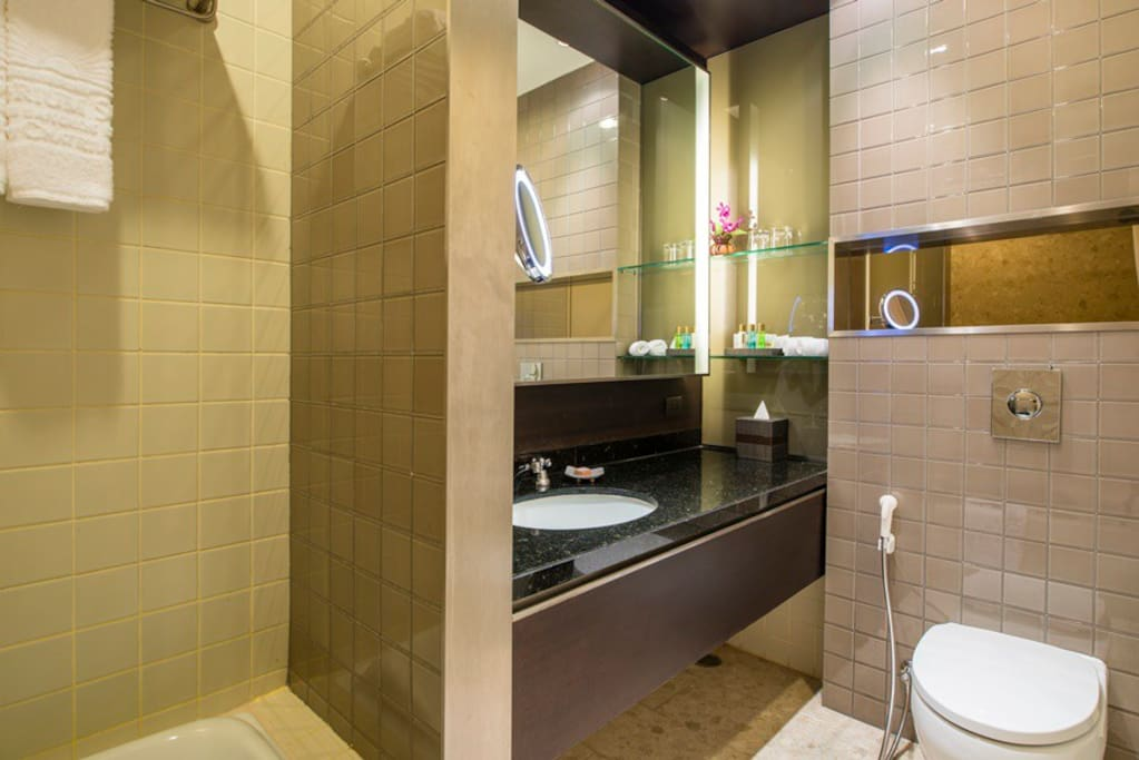Sukhumvit, Emporium Mall, Phrompong BTS Station - Bathroom