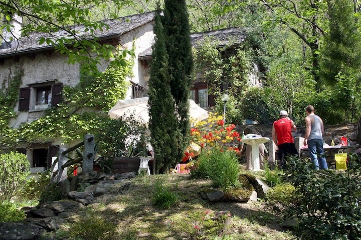Enchanting Rustico in Quiet Surroundings (Blenio)