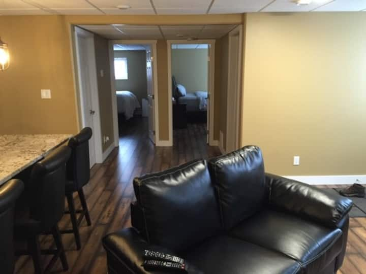Clean and fully furnished duplex