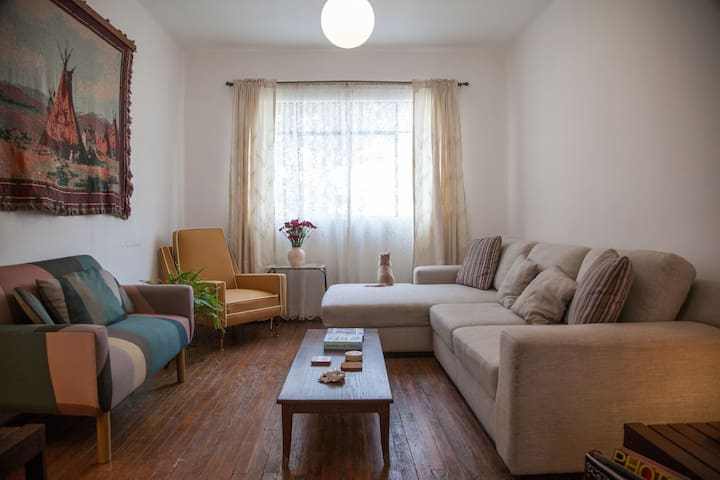Cozy private room for rent San Rafael neighborhood - Ciutat de Mèxic