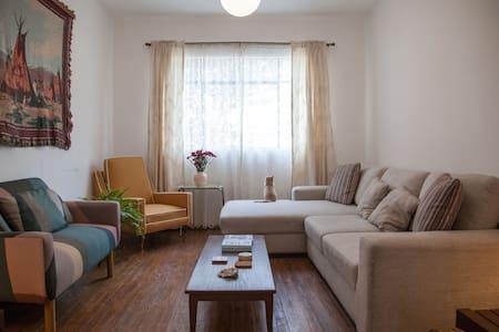 Cozy private room for rent San Rafael neighborhood - Ciutat de Mèxic - Pis