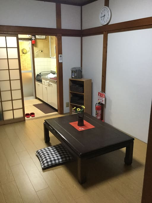 living modern japanese room(Floor heating)