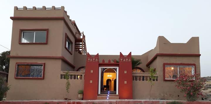 Kasbat Imsouane, Maison Familiale