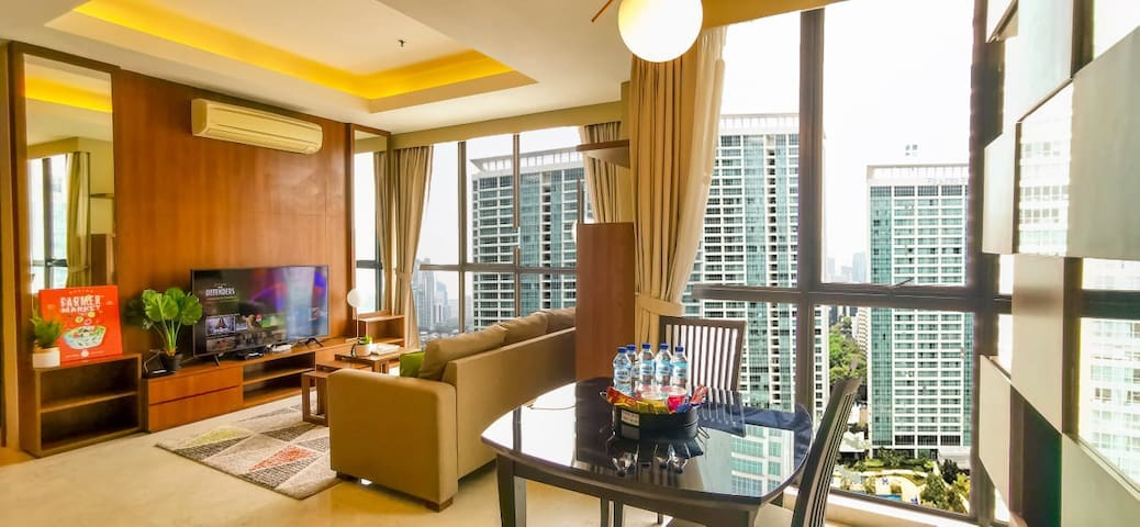 Just Renovated 2 BR Setiabudi Residence Walk 2 Mal