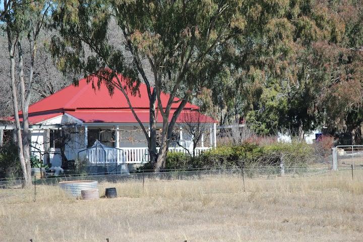 Historic Cottage on working Rare Breeds Farm