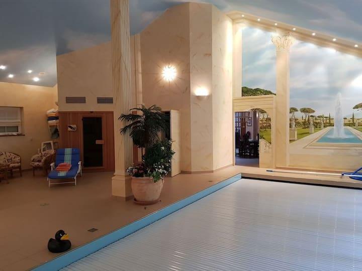 Villa Laloumena Wellness Luxus für Wanderfreunde