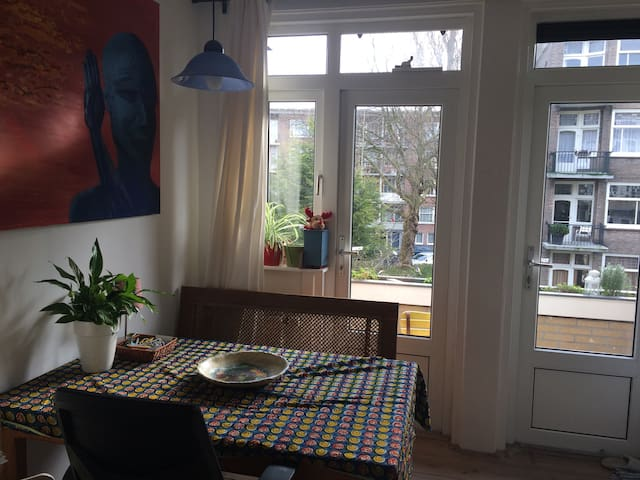 kitchen with morning sun