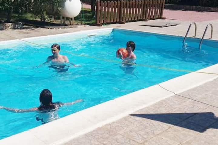 Maison residence con piscina a 5minuti dal mare