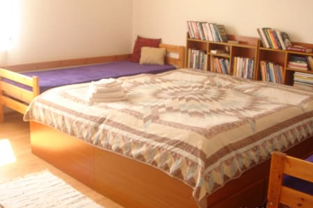 clean comfy room in family house - Suchá Hora