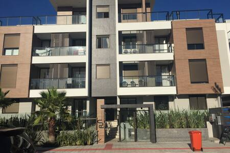 Apto 2 qts junto ao mar - Apartamento