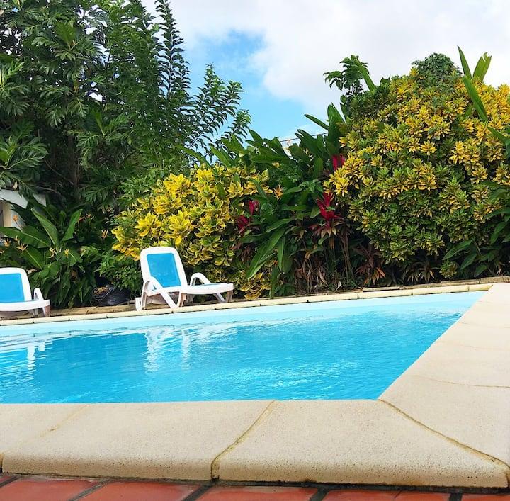 Superbe Appart T2 Terrasse piscine.