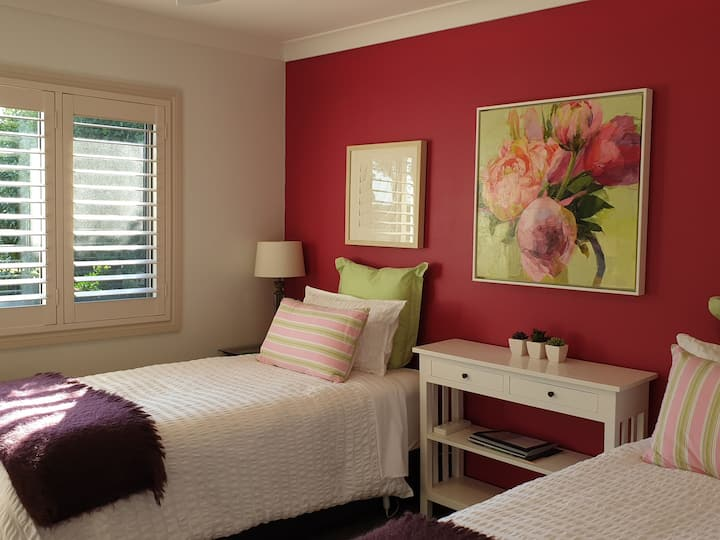 The Peony Room at ArtHouse Bed & Breakfast