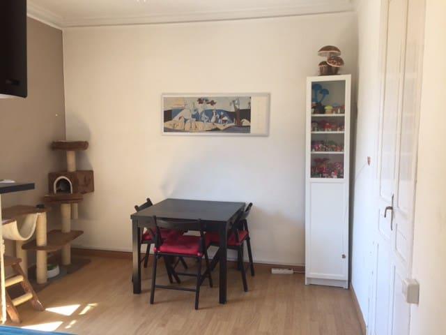 Habitación individual en el centro de Gracia - Barcelona - Apartamento