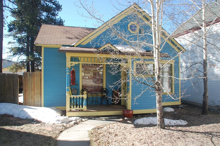 Bright Blue Bungalow in the Heart of Leadville