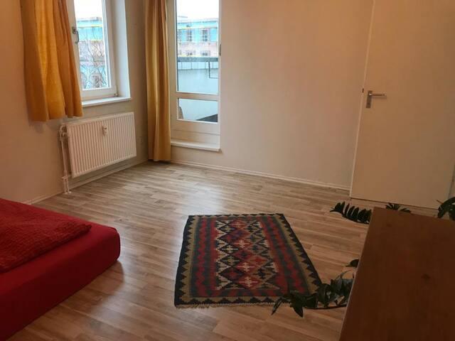Zimmer mit Blick auf den Potsdamer Platz