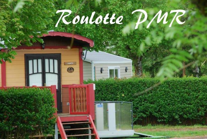Roulotte-Confort - Vue sur Parc - PMR