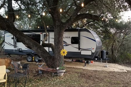 The Cozy Travel Trailer!!!