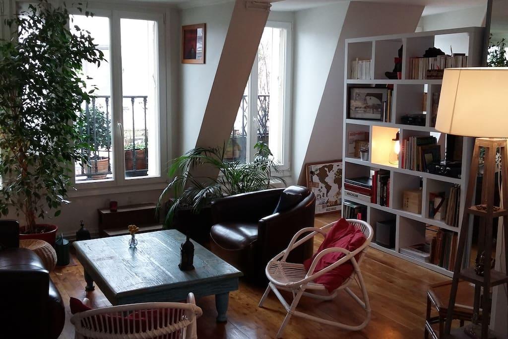 mon petit pied terre parisien appartements louer paris le de france france. Black Bedroom Furniture Sets. Home Design Ideas