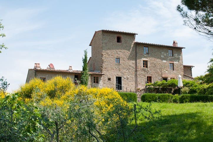 Il Lungo- Campolungo, secret tip in dream location - Greve in Chianti - Dom