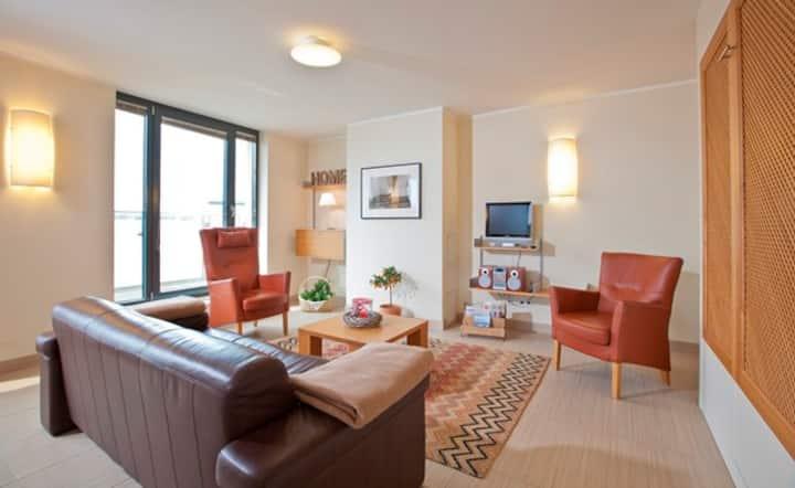 Villa Nordsee, (Norderney), Ferienwohnung Typ B2, 93qm, 1 Schlafzimmer, max. 4 Personen
