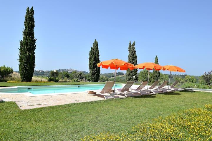 #2 Real Tuscan Apt Panoramic Pool