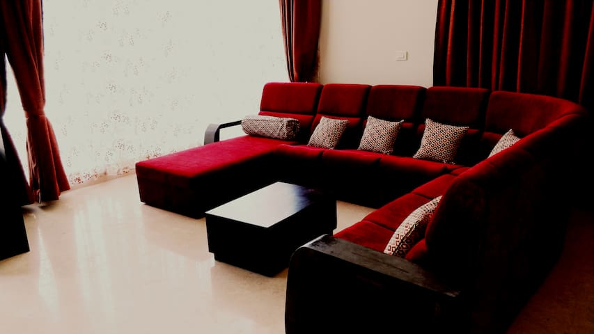 Spacious villa inside a gated community