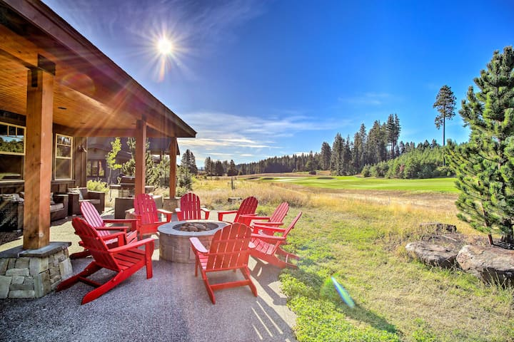 Suncadia Getaway w/Fire Pit, Hot Tub & Game Room!
