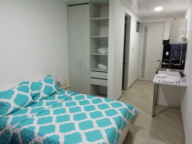 Lindo apartaestudio en Bucaramanga cerca de todo