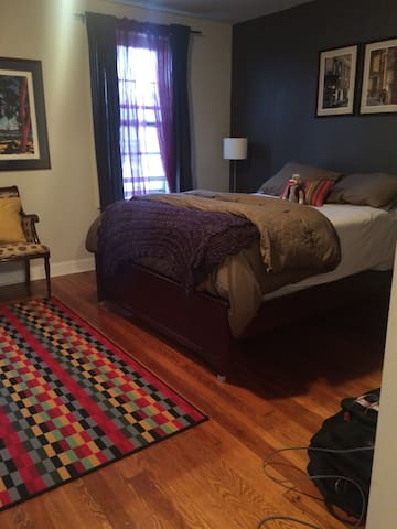 Spacious Master Suite convenient to Center City