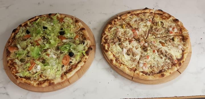 Restaurang Pizza Vandrarhem.och Cafe i centralt